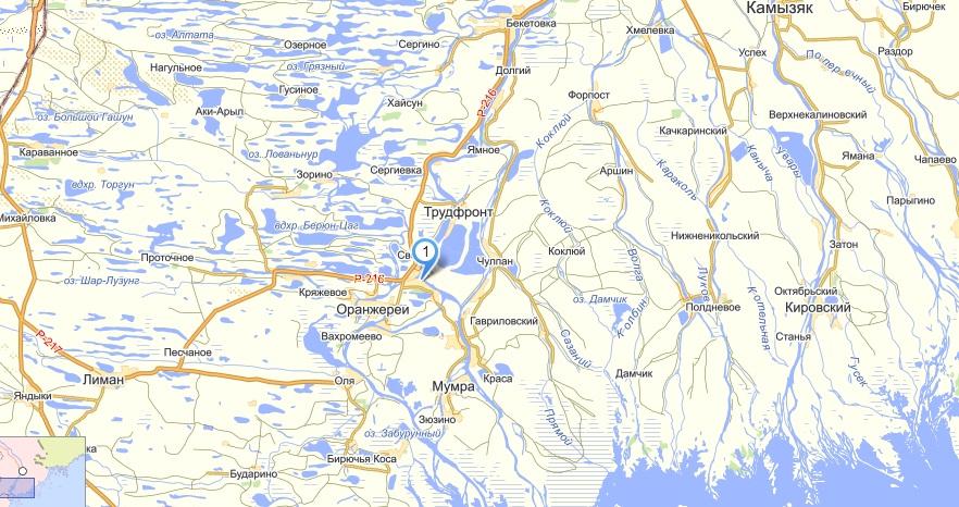 астрахань трехречье карта расположения рыболовных баз